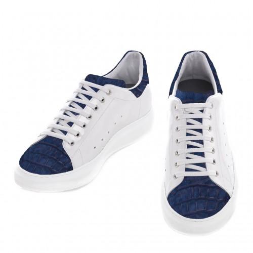 scarpe coccodrillo uomo